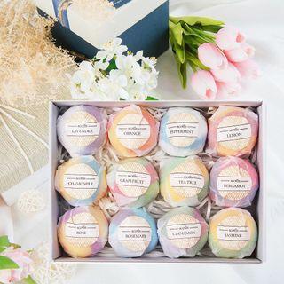 Natural Bath Bomb Gift Set
