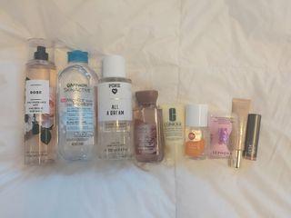Perfume/skincare/makeup bundle