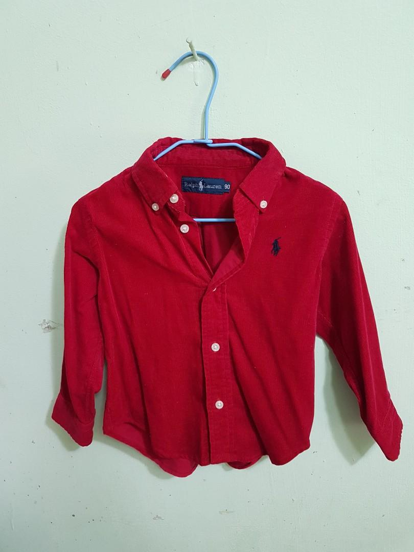 Ralph Lauren 襯衫 90cm