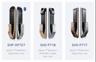 Samsung Digital Lock (Mortise Push/Pull) Official Distributor.
