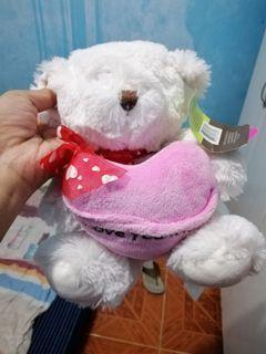 cutie heart Bear