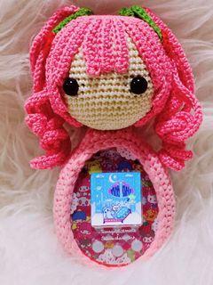 Tamagotchi Crochet Case Sakura Miku