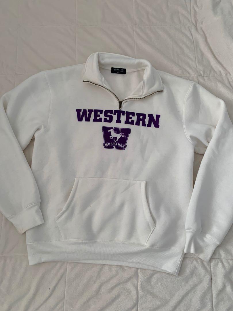 Western University Varsity Quarter Zip