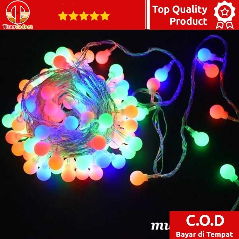 XDISH Lampu Hias Fairy String Light Garland 20 LED 3 Meters - XD200 Titangadget