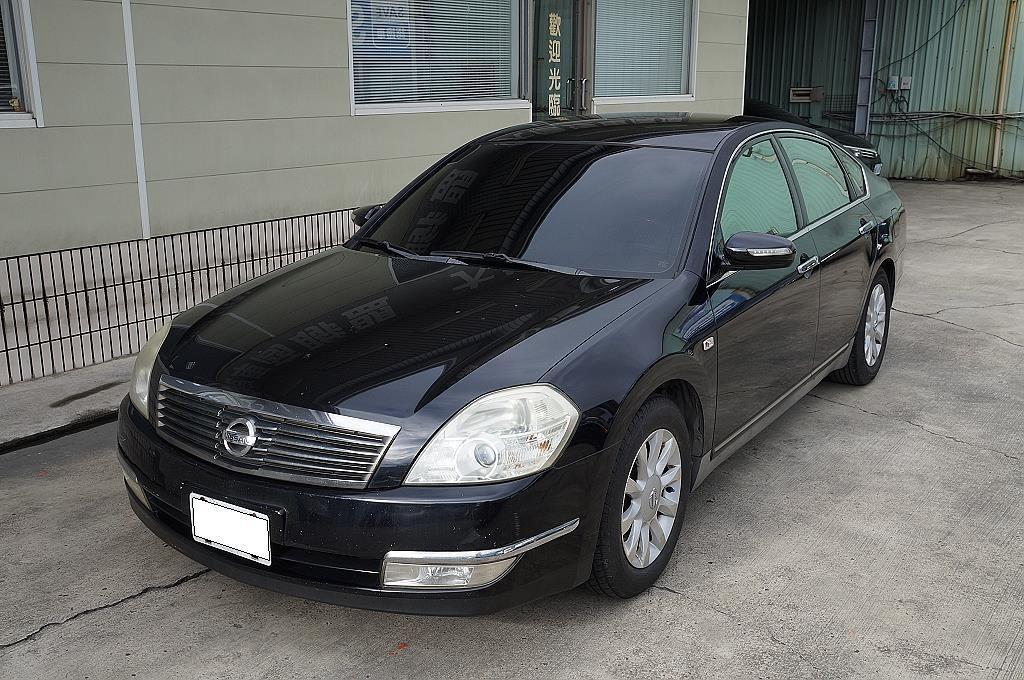 2007 Nissan teana 2.3 優質代步車 原廠魚眼頭燈~恆溫i-key~定速~駕駛座電動椅
