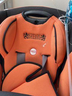 2 x used baby toddler car seats free