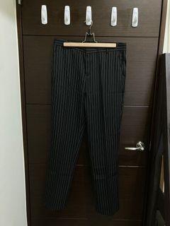 落地直條休閒褲