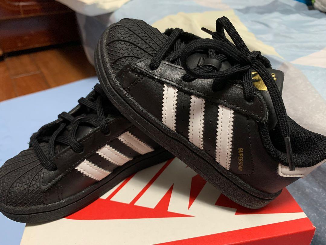 ADIDAS愛迪達貝殼鞋 二手 兒童