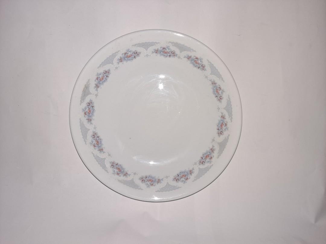 全新 早期珍藏陶瓷碗盤 花花碗盤 阿嬤碗盤 復古懷舊瓷器 完整漂亮無傷