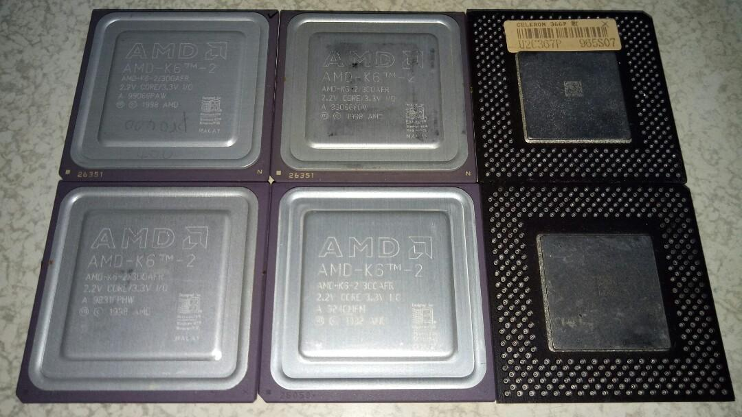 = AMD INTEL 古早CPU =