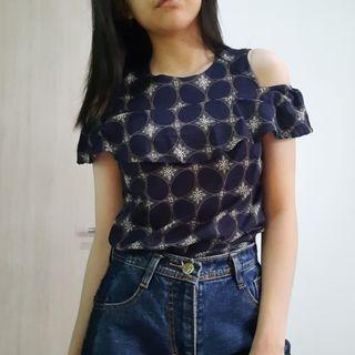 Batik Navy Biru