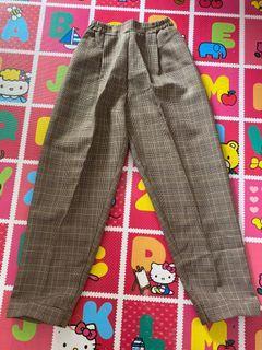 Celana Bahan (Pingang karet)