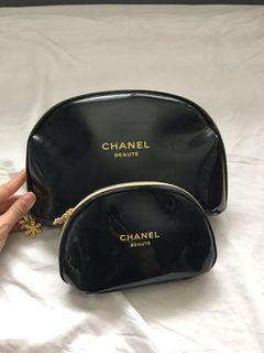 Chanel beauty toiletry bag