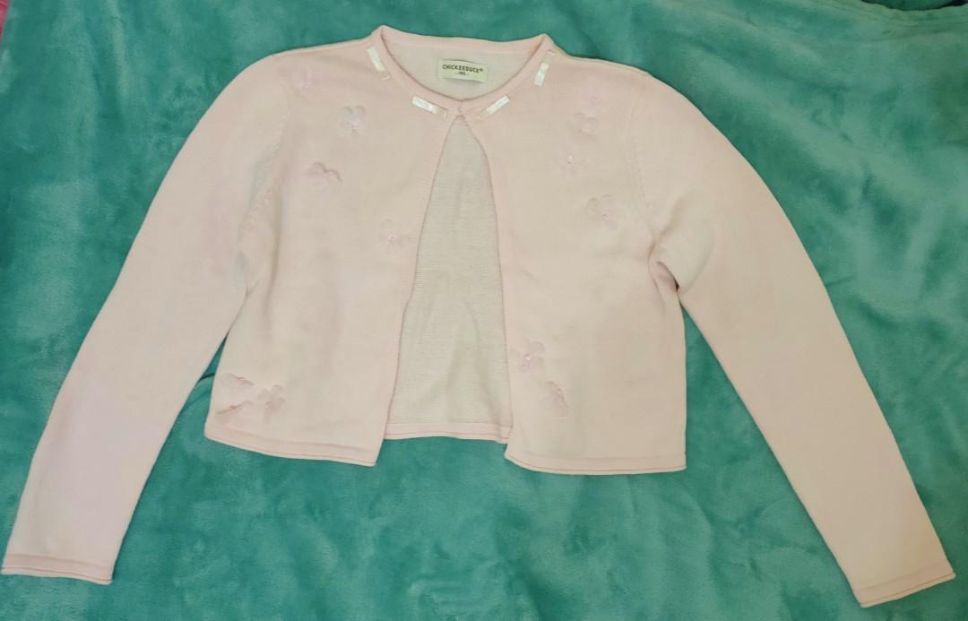 CHICKEEDUCK粉色小外套