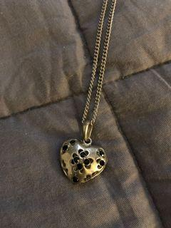 Cute heart necklace