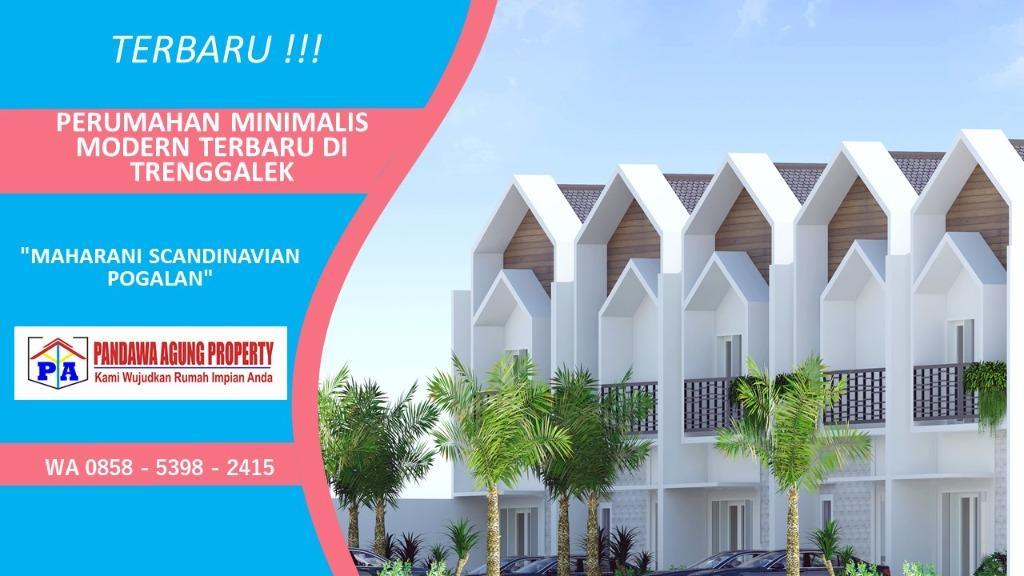 Desain Rumah Ala Perumahan di Trenggalek, PANDAWA AGUNG PROPERTY