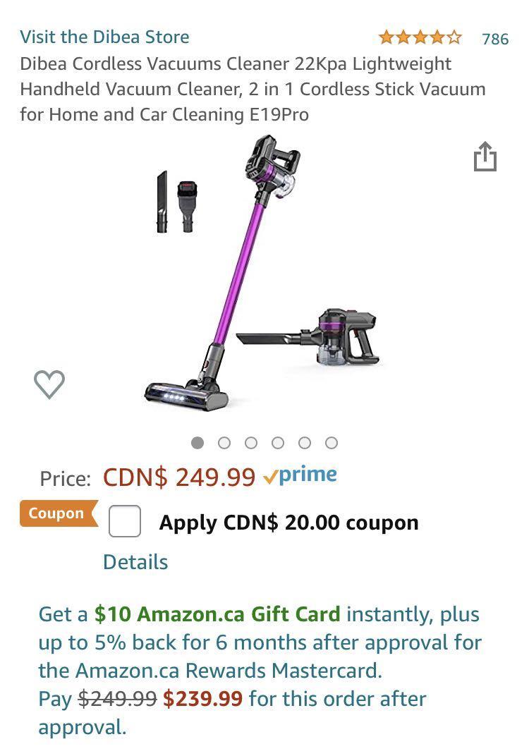 Dibea Vacuum
