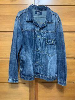 【JKS】Type2 Denim Jacket 重水洗牛仔夾克外套L