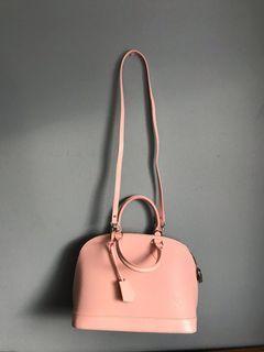 Louis Vuitton Alma BB Rose Ballerine