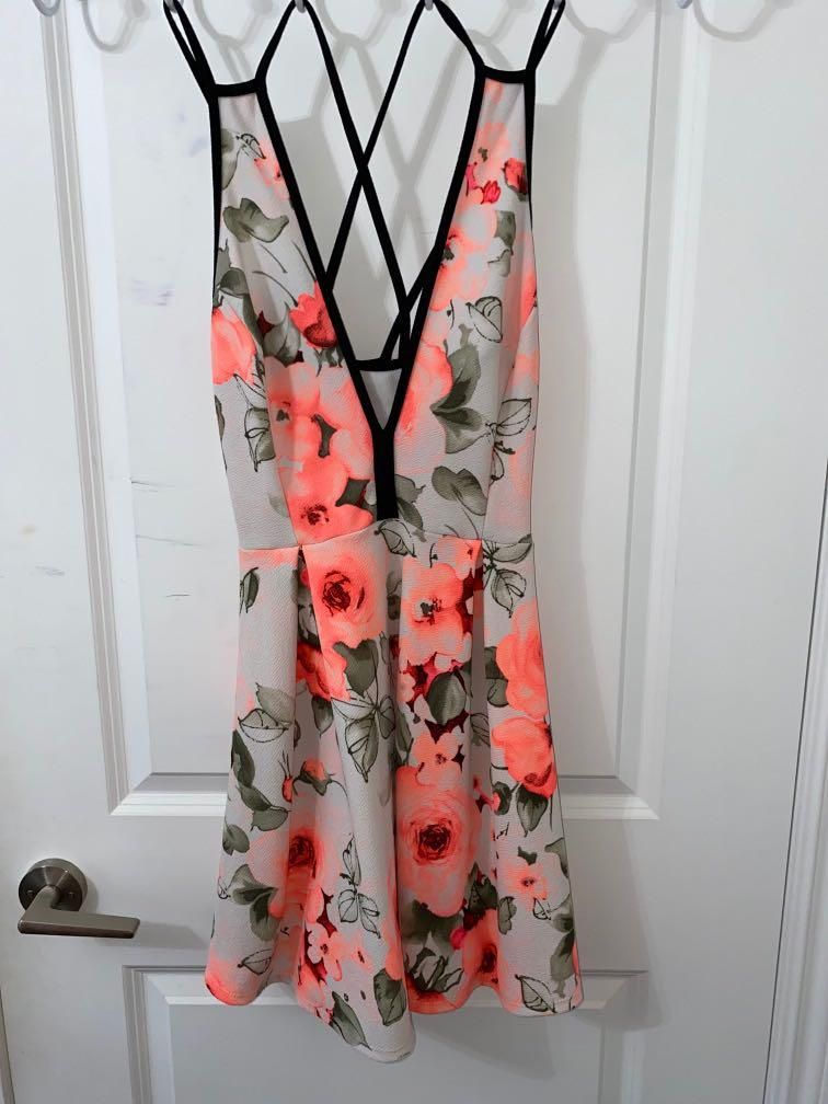 Mendocino M Floral Flow Dress