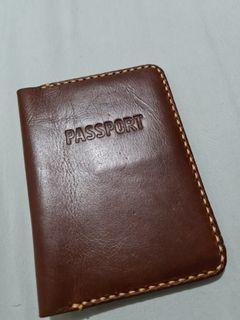 NEW Abekani Passport Holder-Genuine Leather
