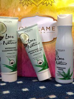 Oriflame love nature (paket isi 3)