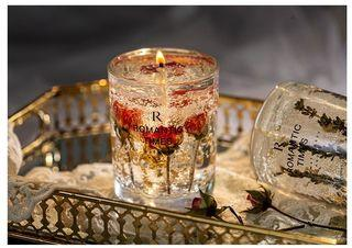 Romantic Times Jelly Candle