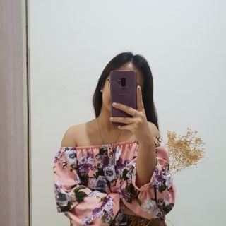 Sabrina Floral off shoulder