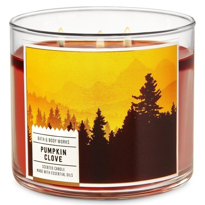 Sale Candle 3 Wicks Bath and Body Works