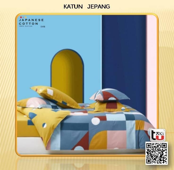 Sprei Set & Bed Cover Katun Jepang