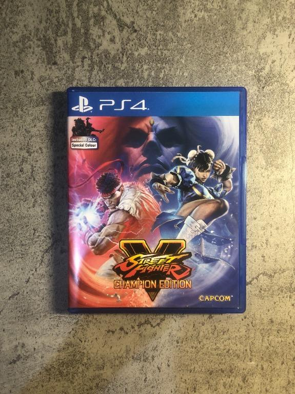 Street Fighter V - Champion Edition for PS4 (Product Code / Voucher Not Activated)