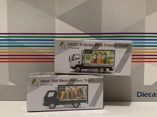 Tiny 67 Bless果汁 黑色白色 Isuzu 貨車模型車仔