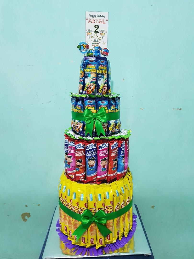 Tower Snack/Cake Snack/Snack Ultah