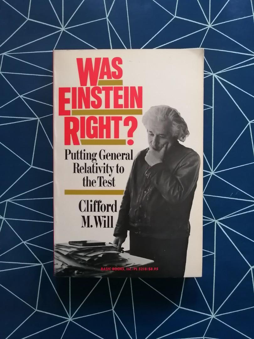 Was Einstein Right? Book