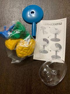腦部3D組裝模型