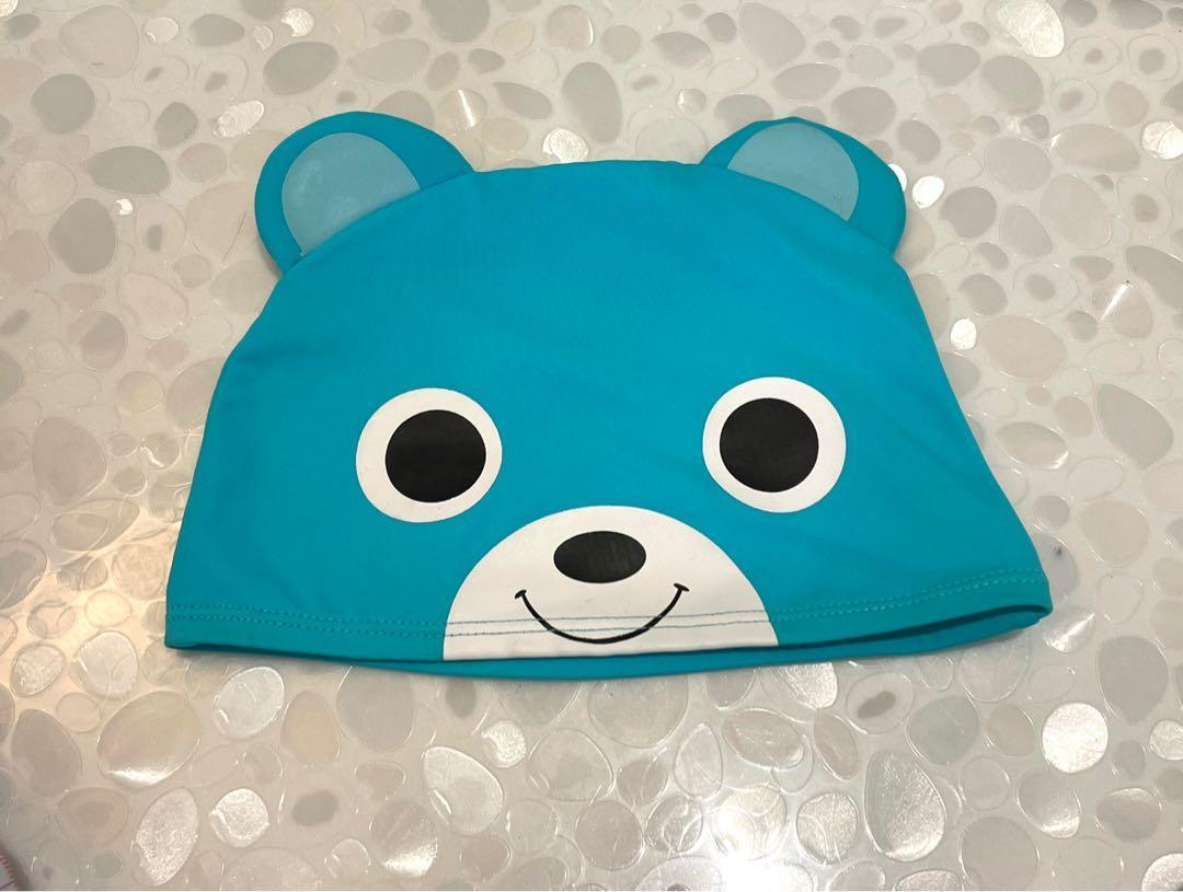 可愛小熊泳帽