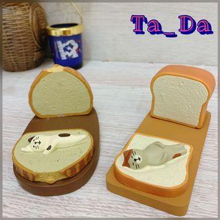 貓咪麵包可愛手機支架