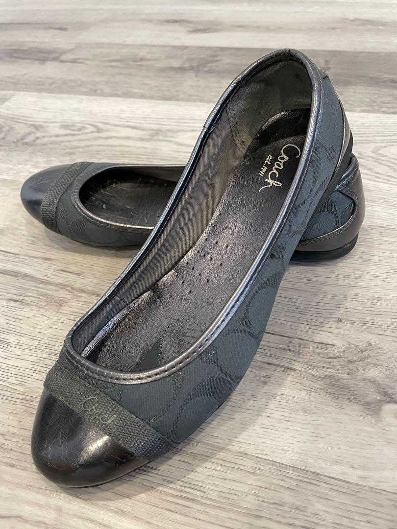 Authentic COACH Ballet Flat Shoes - Size 6