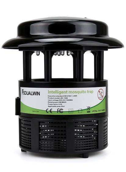 Brand new Insect and Mosquito Trap with UV Light and Suction Fan