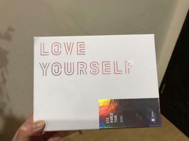 BTS LOVE YOURSELF BTS WORLD TOUR SEOUL BLURAY DVD