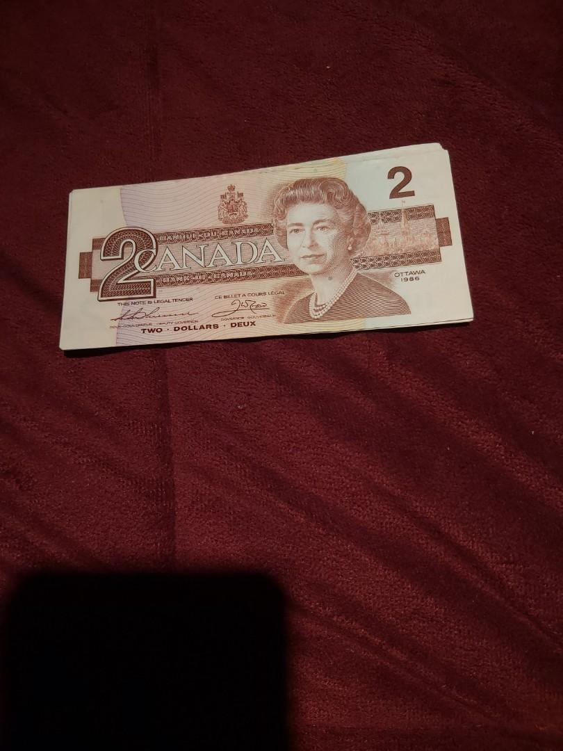 CANADIAN $2 Dollar Bank Note