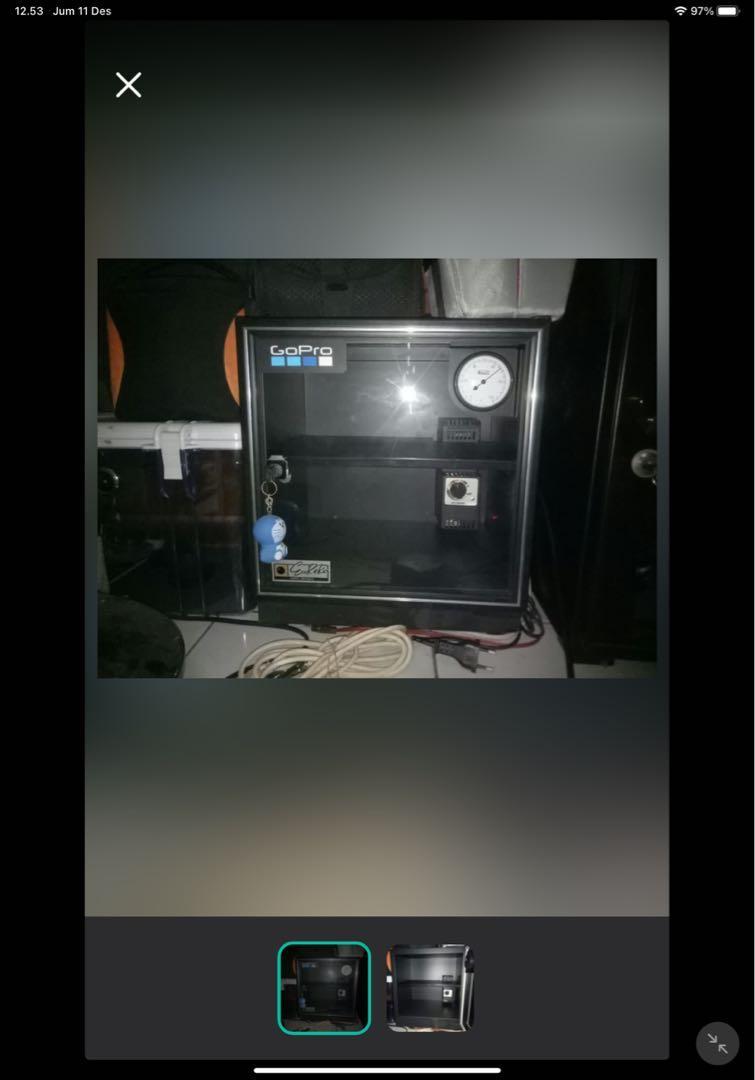 Dry Cabinet Eureka Ad20K