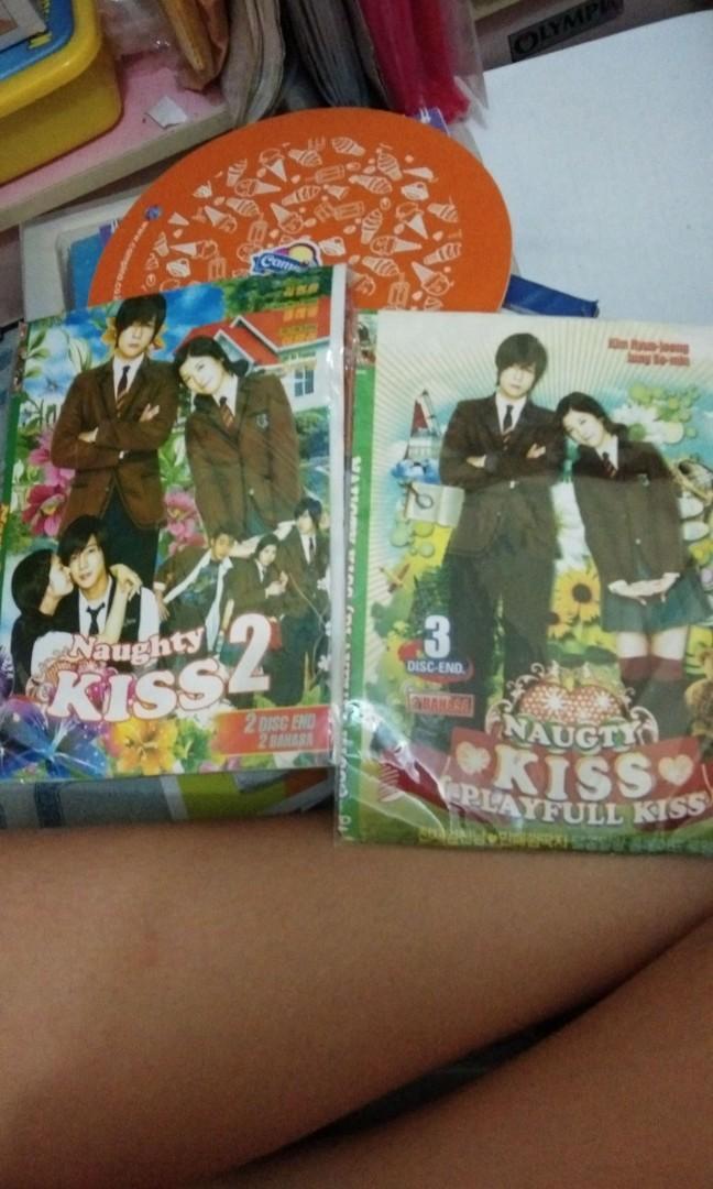 DVD Drama Korea Naughty kiss season 1 & 2