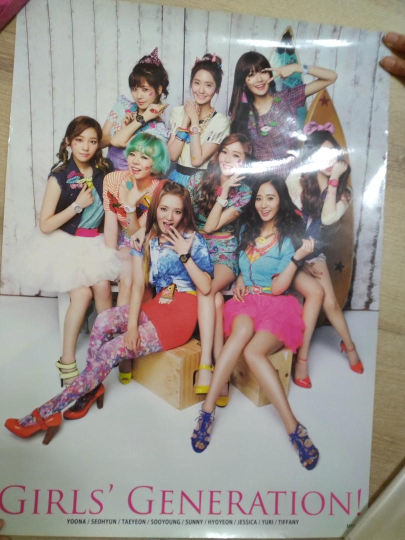 少女時代海報/Girl's generation poster/snsd