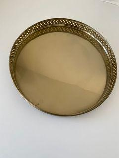 H&M Home Gold Tray