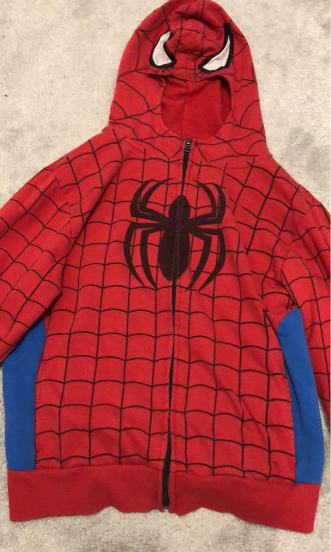 Hooded Spider-Man Sweater