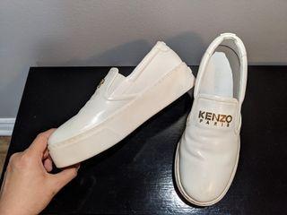 Kenzo white platform
