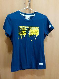 (全新)KINGO藏青色T-shirt