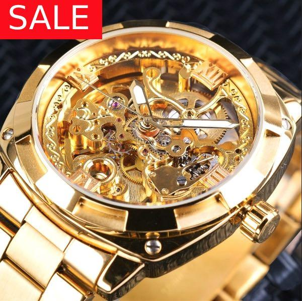 LUXURY GOLD WATCH | great valentines gift FREE GIFT BOX