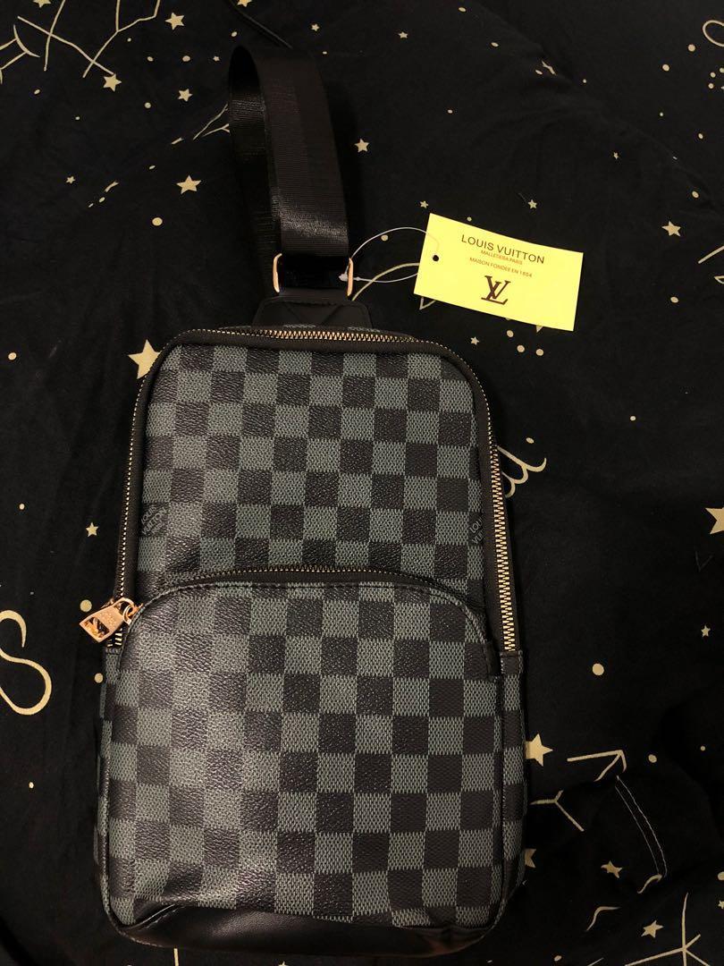 LV chest bag for men